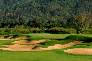 Hole 3, par-five, 586 yards. 22 November 2006. Chiangmai Highlands Golf and Spa Resort, Chiangmai, Thailand. Mandatory credit: Richard Castka/Sportpixgolf.com